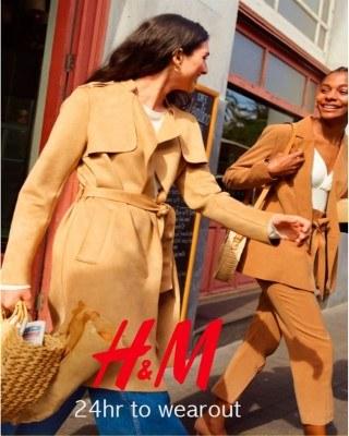 Catalogo H&M 24 horas para vestirse