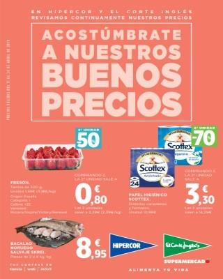 Catalogo Hipercor acostumbrate a nuestros increibles precios