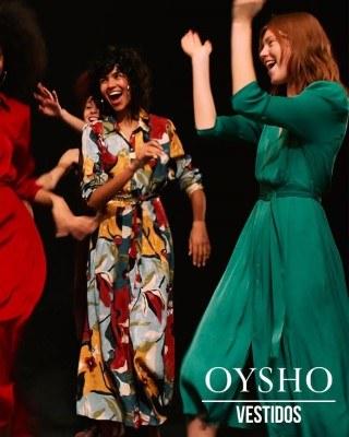 Catalogo Oysho coleccion de vestidos