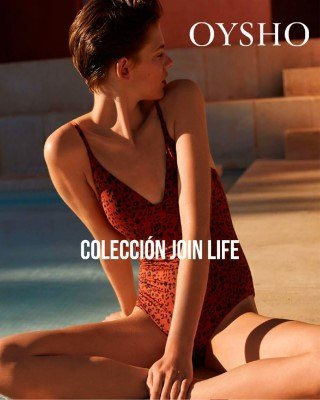 Catalogo Oysho coleccion unirse a la vida