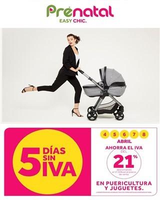 Catalogo Prenatal cinco dias sin iva