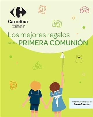 Carrefour los mejores reglaos para su primera comunion