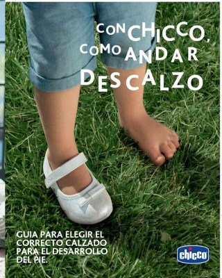 Catalogo Chicco guia de calzado