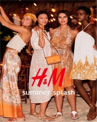 Catalogo H&M chapoteo del verano