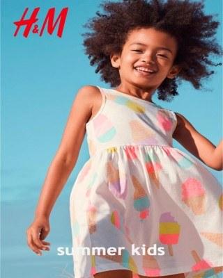 Catalogo H&M ninos de verano