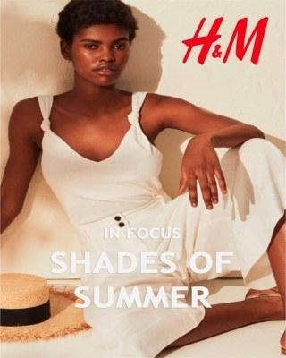 Catalogo H&M sombras de verano