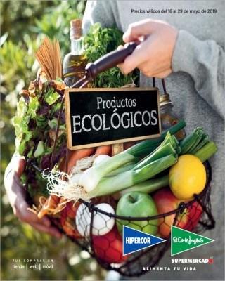 Catalogo Hipercor productos ecologicos