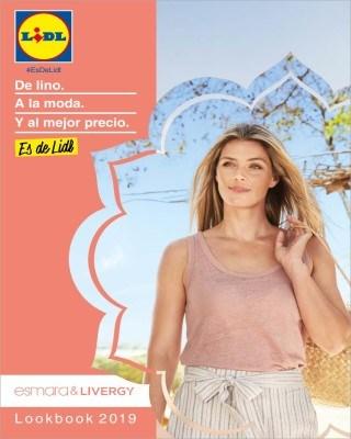 Catalogo Lidl de lino a la moda y al mejor precio