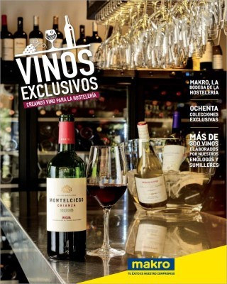 Catalogo Makro vinos exclusivos