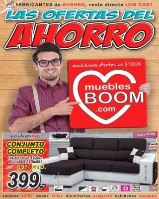 Catalogo Muebles Boom las ofertas del ahorro