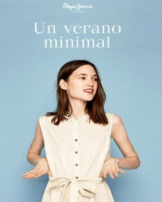 Catalogo Pepe Jeans simplicidad de verano