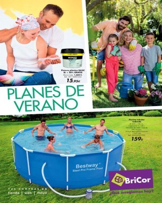 Catalogo Bricor planes de verano