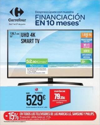 Catalogo Carrefour finaciacion en 10 meses
