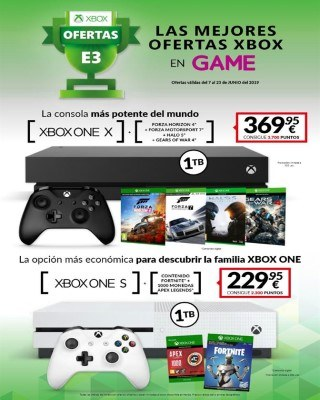 Catalogo Game ofertas en xbox