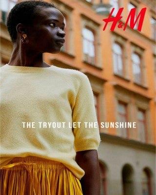 Catalogo H&M La prueba dejo el sol
