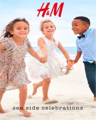 Catalogo H&M celebraciones junto al mar