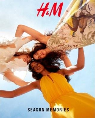 Catalogo H&M temporada de recuerdos