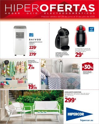 Catalogo Hipercor hiper ofertas hogar ocio y electrodomesticos