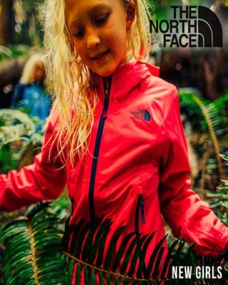 Catalogo The North Face lo nuevos de niñas