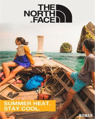 Catalogo The North Face verano calor permanecer fresco mujer