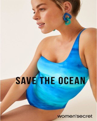 Catalogo Women Secret salvar el océano