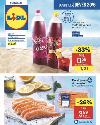 catalogo lidl jueves 20 - Catálogo LIDL jueves 20 junio