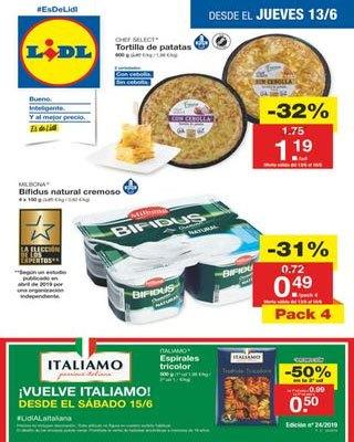 jueves 13 junio lidl - Catálogo supermercados Lidl del 13 al 19 junio