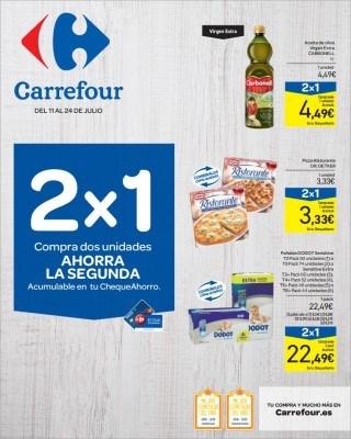 Catalogo Carrefour 2x1 ahorra la segunda