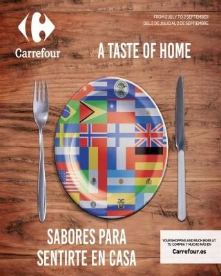 Catalogo Carrefour sabores para sentirse en casa