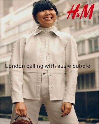 Catalogo H&M llamadas de londres