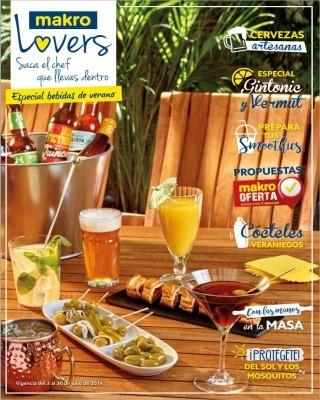 Catalogo Makro especial bebidas de verano