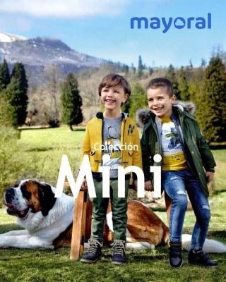 Catalogo Mayoral nueva coleccion para los mini del hogar