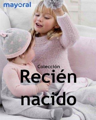Catalogo Mayoral nueva coleccion para recien nacidos