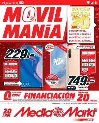 Catalogo Media Markt movil mania - financiacion 0 porciento