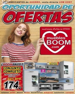 Catalogo Muebles Boom oportunidad de ofertas