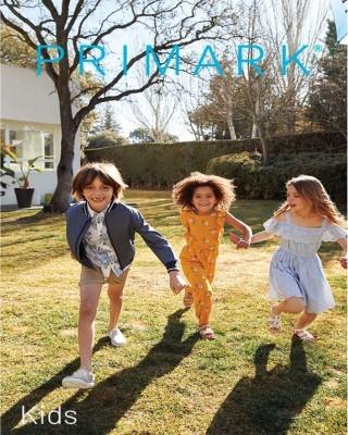 Catalogo Primark en niños de verano