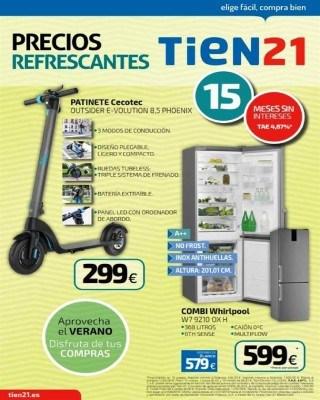 Catalogo Tien 21 precios refrescantes