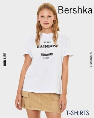 Catalogo Bershka camisetas de agsoto