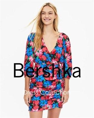 Catalogo Bershka coleccipn de vestidos para agosto