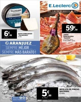 Catalogo E Leclerc mas baratos en pescaderia y fruteria