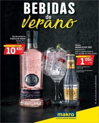 Catalogo Makro bebidas de verano