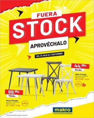 Catalogo Makro fuera stock aprovechalo
