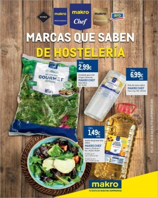 Catalogo Makro marcas que saben de hosteleria