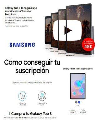 Catalogo Samsung como conseguir tu suscripcion