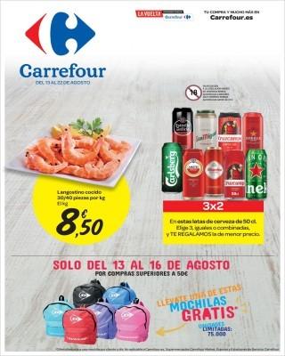 Catalogo la vuelta en Carrefour