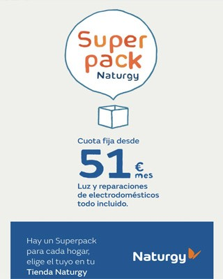 super pack naturgy