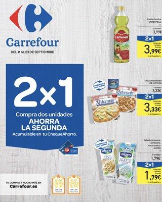 2por1carrefourseptiembre - Catálogo Carrefour 2x1 septiembre