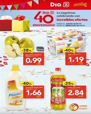Catálogo Dia 40 aniversario con ofertas increíbles - Catálogo Dia 40 aniversario con ofertas increíbles