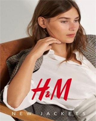 Catalogo H&M nuevo en chaquetas