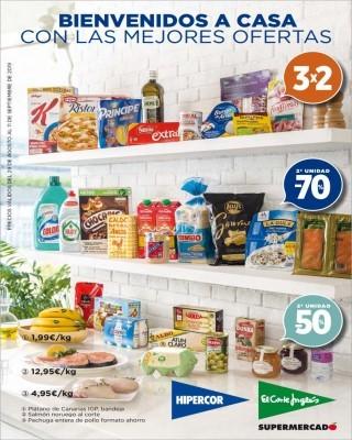Catalogo Hipercor bienvenidos a casa con las mejores ofertas